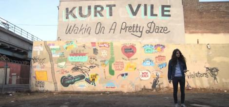 Kurt Vile - Waking On A Pretty Daze artwork