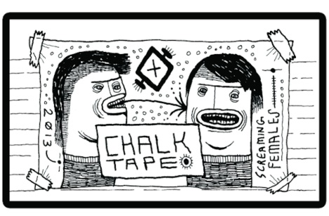 Screaming Females - Chalk Tape