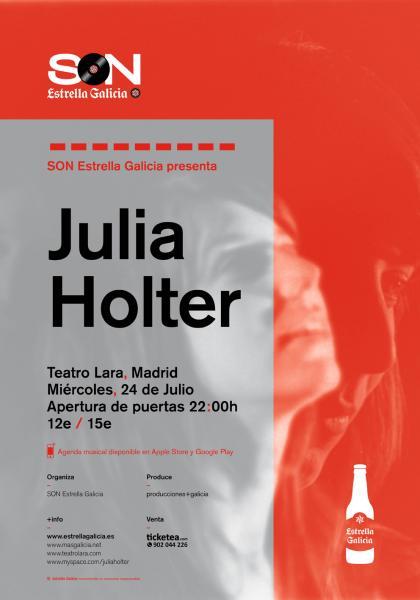 Julia Holter en Madrid
