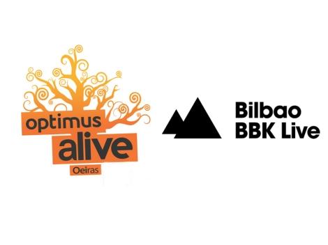 Optimus Alive VS Bilbao BBK Live